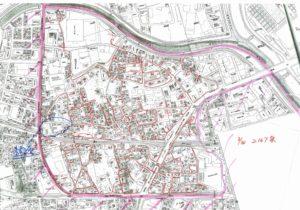 住宅地図 画像