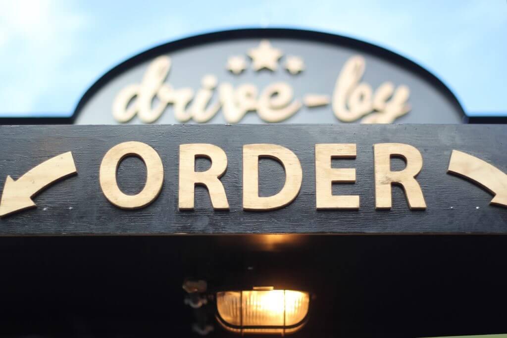 Orderの文字