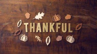 Thankfulのレター画像
