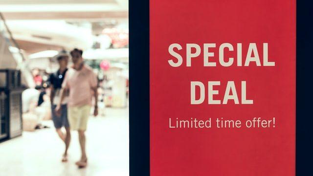 特別セール
