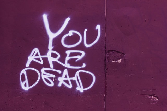 お前は死んでいる